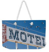 Pigeon Roost Motel Sign Weekender Tote Bag