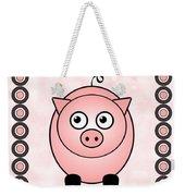 Piggy - Animals - Art For Kids Weekender Tote Bag