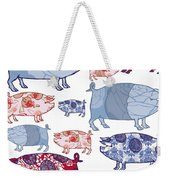 Piggy In The Middle Weekender Tote Bag