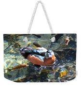 Pigmy Goose Weekender Tote Bag