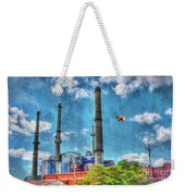 Pigs On The Wing Revisited Weekender Tote Bag