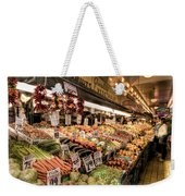 Pike Place Veggies Weekender Tote Bag