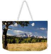 Pikes Peak And Snow Weekender Tote Bag