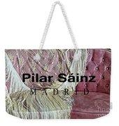 Pilar Sainz Designer Weekender Tote Bag