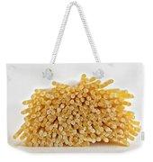 Pile Of Pasta Weekender Tote Bag by Julian Eales