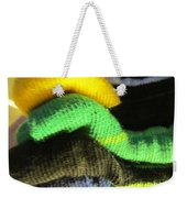 Piled Up Weekender Tote Bag
