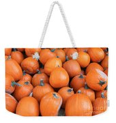 Piles Of Pumpkins Weekender Tote Bag