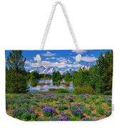 Pilgrim Creek Wildflowers Weekender Tote Bag