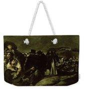 Pilgrimage To San Isidros Fountain, C.18213 Oil On Canvas Weekender Tote Bag
