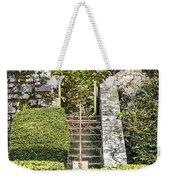 Pilgrim's Steps Weekender Tote Bag