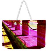 Pillars And Chains - Color Rays Weekender Tote Bag