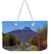 Pilot Mountain From Overlook Weekender Tote Bag