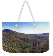 Pilot Mountain Near Balsam Grove Weekender Tote Bag