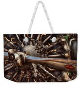 Pilot - Plane - Engines At The Ready  Weekender Tote Bag by Mike Savad