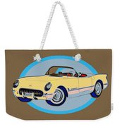 Pin Up Vette Weekender Tote Bag