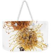 Pincushion Protea Weekender Tote Bag