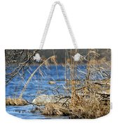 Pine Acres Lake Blues  Weekender Tote Bag