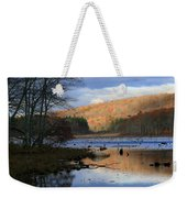 Pine Acres Lake Reflections  Weekender Tote Bag