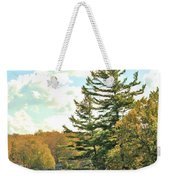 Pine By The Water Weekender Tote Bag