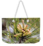 Pine Catkins Weekender Tote Bag