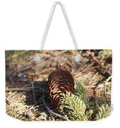 Pine Cone And Small Branch Weekender Tote Bag