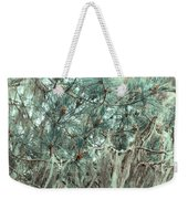 Pine Cones And Lace Lichen Weekender Tote Bag
