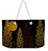 Pine Forest Moon Weekender Tote Bag