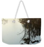 Pine Reflection Weekender Tote Bag