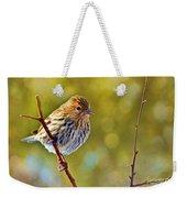 Pine Siskin - Digital Paint Weekender Tote Bag