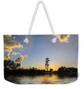 Pine Tree At Sunset Weekender Tote Bag