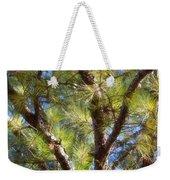 Pine Tree Glow 2014 Weekender Tote Bag