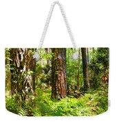 Pine Trees And Ferns Weekender Tote Bag