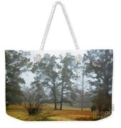 Pine Trees In Mist - Digital Paint 1 Weekender Tote Bag
