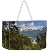 Pine Trees In The Rocky Mountain National Park Weekender Tote Bag