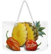Pineapple And Habanero Peppers  Weekender Tote Bag