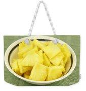 Pineapple Chunks Weekender Tote Bag
