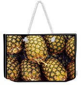 Pineapple Color Weekender Tote Bag