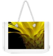 Pineapple Flower Poster Weekender Tote Bag