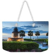 Pineapple Fountain Charleston South Carolina Sc Weekender Tote Bag