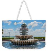Pineapple Fountain Weekender Tote Bag