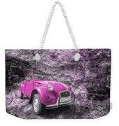 Pink 2cv  Weekender Tote Bag
