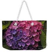 Pink And Blue Hydrangea Weekender Tote Bag
