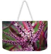 Pink And Cream Cluster Bloom Weekender Tote Bag