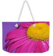 Pink And Purple Smile Weekender Tote Bag