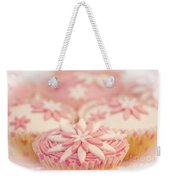Pink And White Cup Cakes Weekender Tote Bag