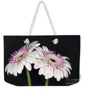 Pink And White Gerbera 2 Weekender Tote Bag