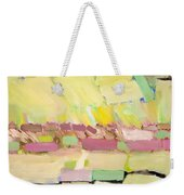 Pink And Yellow Weekender Tote Bag
