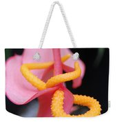 Pink And Yellow Orchids 1 Weekender Tote Bag