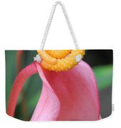 Pink And Yellow Orchids 2 Weekender Tote Bag
