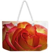 Pink And Yellow Rose - Digital Paint Weekender Tote Bag